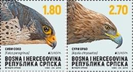 BHRS 2019-782-3 EUROPA CEPT, BOSNA AND HERZEGOVINA REPUBLIKA SRBSKA, 1 X 2v, MNH - 2019