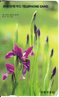 SOUTH KOREA - Flowers(reverse Letter J, W2000), 05/97, Used - Korea (Zuid)
