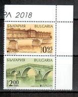 Bulgarien / Bulgaria / Bulgarie 2018 Paar/pair EUROPA ** - 2018