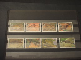 SWAZILAND - 1992 RETTILI 4 +4 VALORI - NUOVI(++) - Swaziland (1968-...)