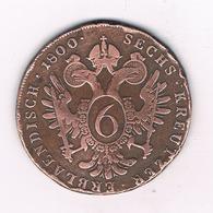 6 KREUZER 1800  C OOSTENRIJK /4888/ - Autriche