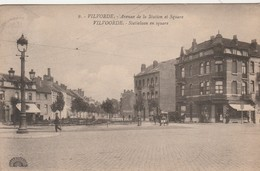 Vilvorde , Vilvoorde , Avenue De La Station Et Square , Staielaan En Square , ( Henri Georges ,n° 9 ) - Vilvoorde