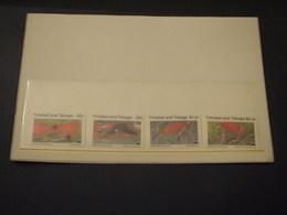 TRINIDAD - 1990 FAUNA 4 VALORI - NUOVI(++) - Trindad & Tobago (1962-...)