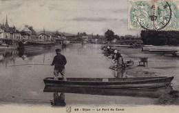 Côte-d'Or - Dijon - Le Port Du Canal - Dijon