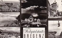 AK Festspielstadt Bregenz - Mehrbildkarte   (41999) - Bregenz