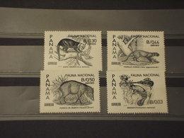 PANAMA - 1984 FAUNA 4 VALORI - NUOVI(++) - Panama