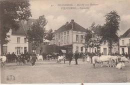 Vilvorde , Vilvoorde ,  Marché Aux Bestiaux , Veemarkt , ( Henri Georges ,n° 21 ) - Vilvoorde