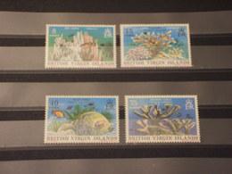 VIRGIN - 1977/8 CORALLI 4 VALORI - NUOVI(++) - British Virgin Islands