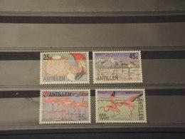 ANTILLE - 1985 UCCELLI 4 VALORI - NUOVI(++) - Antille
