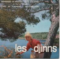 """45T. LES DJINNS.  Monsieur LA FAYETTE -  Ohé ! Les Gars ( Du Film : """"La Fayette"""") -  Thyl De Flandre  -  Le Carillon - 45 Rpm - Maxi-Single"""
