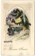 Bonne Année - Train - Anno Nuovo
