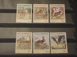 MOZAMBICO - 1983 FAUNA 6 VALORI - NUOVI(++) - Mozambico