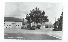 Haut-Fays - Le Monument Et La Place - Pas Circulé - Edit. A. Smetz - Daverdisse