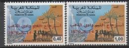 Maroc N°839 Et 840** - Marokko (1956-...)