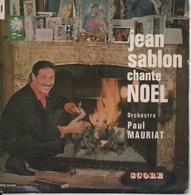 45T. Jean SABLON Chante NOEL. Préface JEAN COCTEAU - Noël Blanc - Tout Est Blanc - Notre Père - Je Vous Salue Marie - 45 T - Maxi-Single