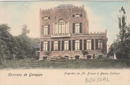 Bousval , Environs De Genappe , Propriété De Mr Breuer à Basse Lalloux ,( Colorisée ) - Genappe