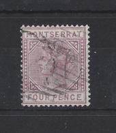 MONTSERRAT...QUEEN VICTORIA...(1837-01)...4d....SG12......USED... - Montserrat