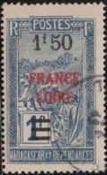 Madagascar 1940-1960 - N° 247 (YT) N° 262 (AM) Oblitéré. - Madagascar (1889-1960)