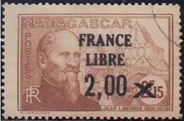 Madagascar 1940-1960 - N° 264 (YT) N° 280 (AM) Oblitéré. - Madagascar (1889-1960)