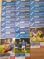 Programme Football Programmaboek 19 Programmaboekjes AGOVV Apeldoorn Seizoen 2007-2008 - Boeken