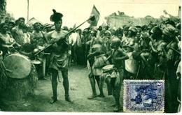 TARJETA POSTAL GOLFO DE GUINEA  EL 450 - 1931-50 Cartas
