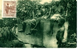 TARJETA POSTAL SANTA ISABEL  FERNANDO POO GOLFO DE GUINEA  EL 451 - Fernando Po