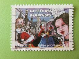 Timbre France YT 572 AA - Fêtes Et Traditions De Nos Régions - Fête Des Brodeuses De Pont-l'Abbé (Bretagne) - 2011 - Sellos Autoadhesivos