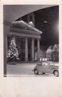 AK Dornbirn - Marktplatz - Weihnachtsbaum Auto - 1953  (42012) - Dornbirn