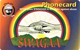 *SWAZILAND* - Scheda A Chip Usata - Swaziland