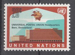 AS 32 ) UNO UN New York 1970: 235 **/MNH - Neues Gebäude Des UPU - Ungebraucht