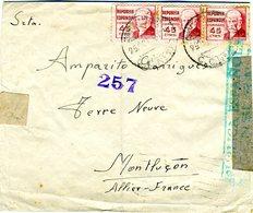 1938  CORREO CAMPAÑA BASE 8  / 34 DIVISION Cia Transmisiones EL 470 - 1931-50 Cartas