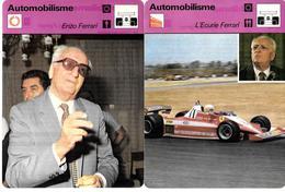 GF1406 - CARTOLINE EDIZIONE RENCONTRE - SCUDERIA FERRARI - ENZO FERRARI - Automobilismo - F1