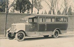 Snapshot Voiture Berliet Transport Garampazzi & Cie St Etienne Car Automobile - Automobiles