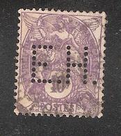 Perforé/perfin/lochung France No 233 E. Hermann Theissen Et Cie - Perforés
