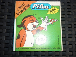 Pifou Poche Mensuel N°80/ Editions De Vaillant, Février 1977 - Editions Originales (langue Française)