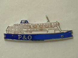 PIN'S BATEAU - P & O - COMPAGNIE MARITIME - EMAIL - Boats