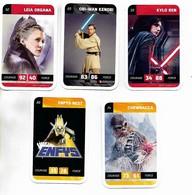 Lot De 11 Cartes De Collection Star Wars Leclerc 2018 - Star Wars