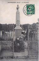 Cpa HONNECOURT 59 Le Monument ( 1870 - 1871 ) - Andere Gemeenten