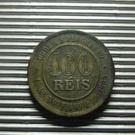 Brazil 100 Reis 1889 - Brazil