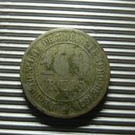 Brazil 100 Reis 1871 - Brésil