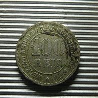 Brazil 100 Reis 1885 - Brazil
