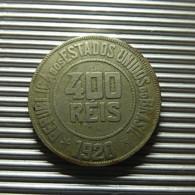 Brazil 400 Reis 1920 - Brazil