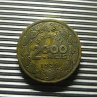 Brazil 2000 Reis 1939 - Brazil