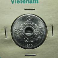 Vietnam 2 Xu 1975 Varnished - Viêt-Nam