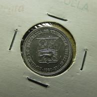 Venezuela 25 Centimos 1960 Silver - Venezuela