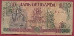 Ouganda 1000 Shillings 1991 Dans L 'état (2) - Uganda