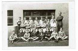 Institut St Louis 72 Rue De Spa (St Josse) - 1933 - Classe De 9è B - Professeur M. Mae - Ecole Garçons - 2 Scans - Anonymous Persons