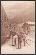 CPA  Suisse, Chemin De Fer, VIEGE - ZERMATT - VS Valais