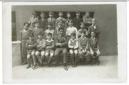 Institut St Louis 72 Rue De Spa (St Josse) - 1933 - Classe De M. Systermans - Ecole Garçons - 2 Scans - Anonymous Persons