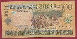 Ruanda 100 Francs  Du 01/09/2003 Dans L 'état - Ruanda-Urundi